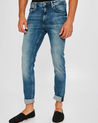 Джинсы-скинни делаве на пуговицах Pepe Jeans