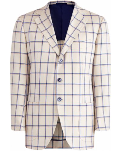 Пиджак с карманами шерстяной Cesare Attolini