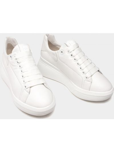 Кожаные кроссовки - белые Hogl