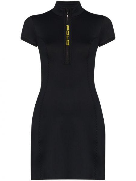 Czarna sukienka mini Polo Ralph Lauren