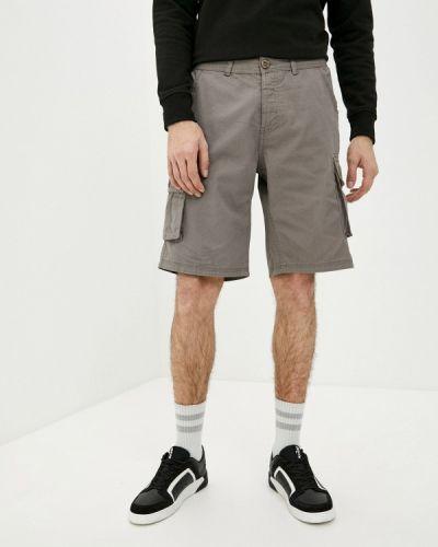 Повседневные серые шорты Lee Cooper