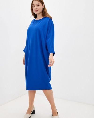 Повседневное платье - синее Lina