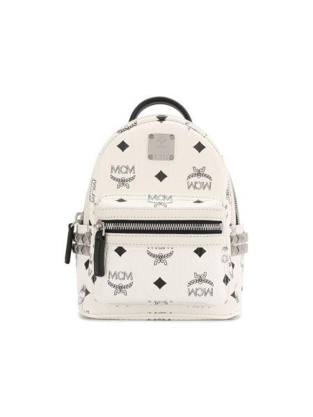 Рюкзак с заклепками на молнии Mcm