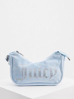 Голубая зимняя сумка Juicy Couture