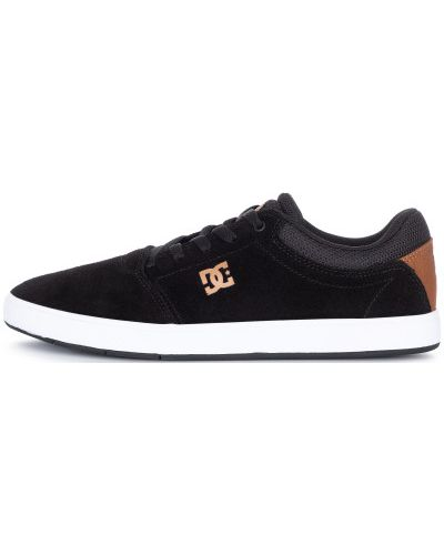 Кеды черные на шнуровке Dc Shoes