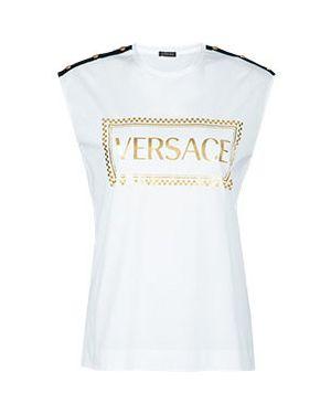 Футболка белая Versace