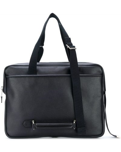Кожаная сумка для ноутбука с логотипом Maison Margiela