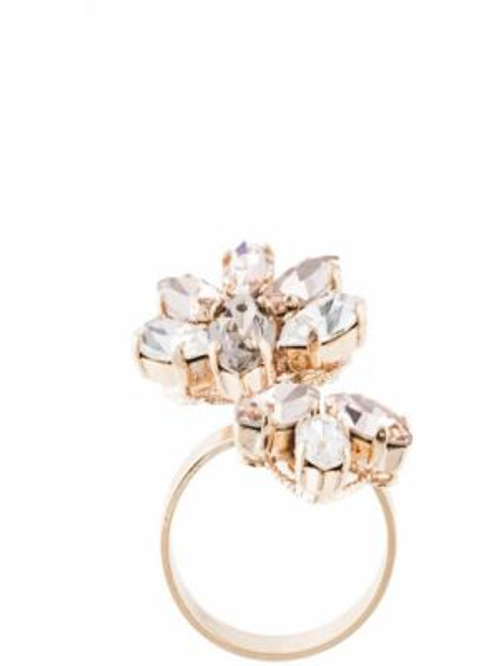 Szary złoty pierścionek Anton Heunis