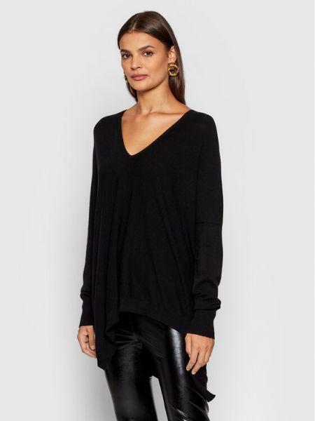 Czarny sweter Kontatto