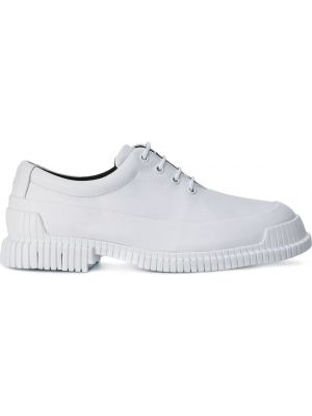 Белые кожаные туфли на шнурках Camper Lab