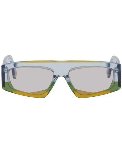 Okulary przeciwsłoneczne dla wzroku prostokątny żółty Jacquemus