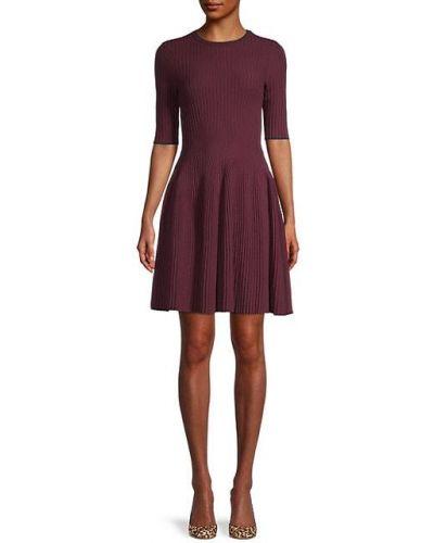 С рукавами свободное вязаное платье мини Ted Baker London