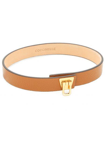 Brązowy naszyjnik Coccinelle