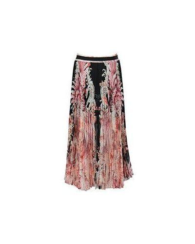 Плиссированная юбка миди Roberto Cavalli