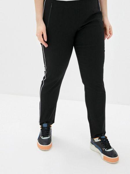 Спортивные брюки черные весенний Ulla Popken