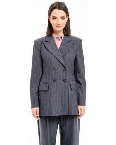 Пиджак оверсайз - серый Alito