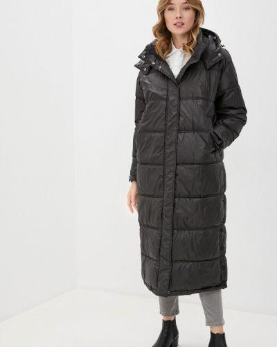 Теплая черная куртка Baon