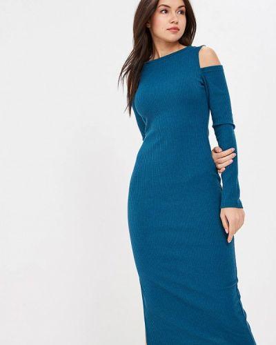 Платье бирюзовый с открытыми плечами Freespirit