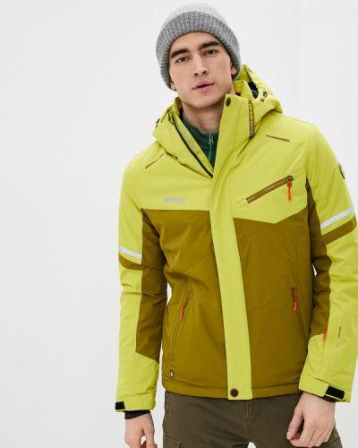 Зеленая куртка горнолыжная High Experience