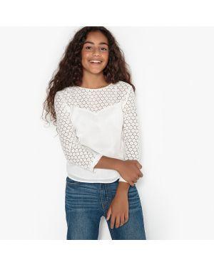 Блуза длинная с вырезом La Redoute Collections