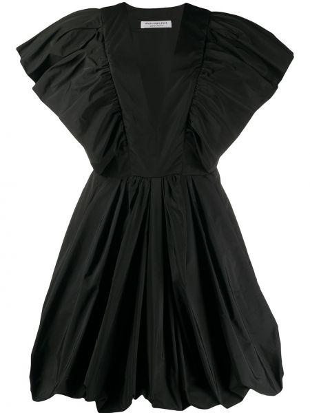 Платье мини с декольте оверсайз Philosophy Di Lorenzo Serafini