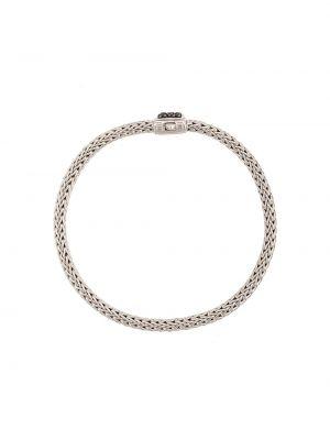 Классический серебряный браслет John Hardy