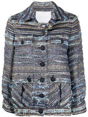 Длинная куртка - синяя Giada Benincasa