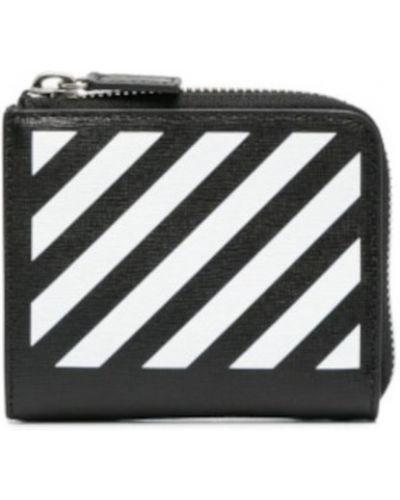 Czarny portfel Off-white