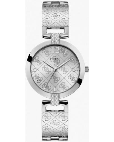 Часы серебряный Guess