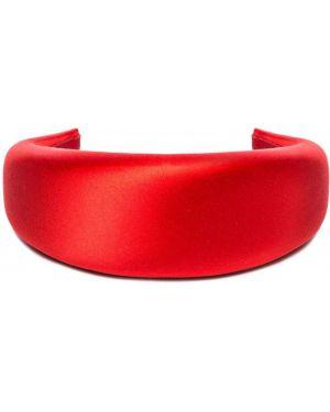 Шелковый ободок - красный Prada