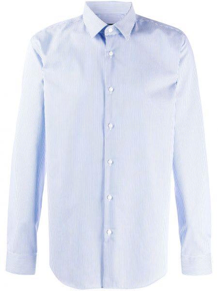 Koszula z długim rękawem wyposażone długa Boss