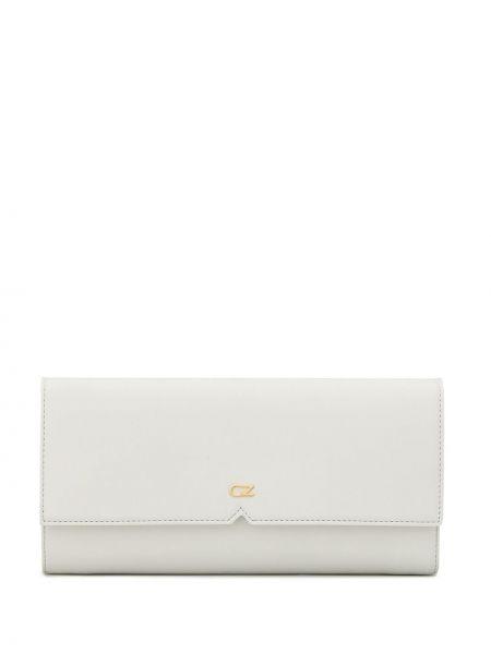 Кожаный белый кошелек с карманами Giuseppe Zanotti