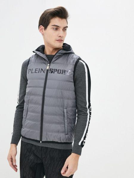 Спортивный костюм теплый серый Plein Sport
