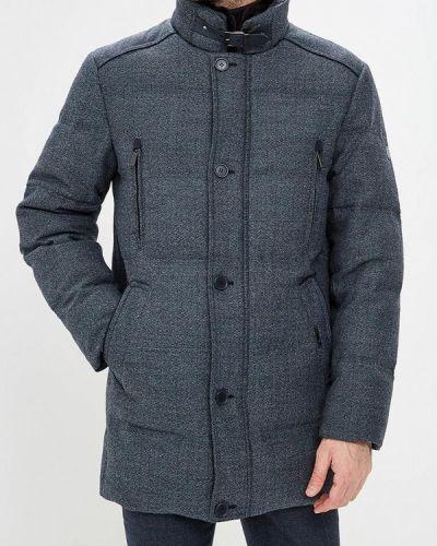 Зимняя куртка осенняя синяя Bazioni