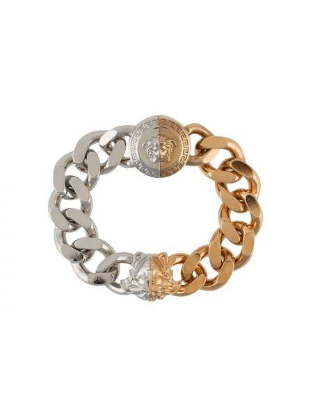 Złota bransoletka ze złota pozłacana Versace