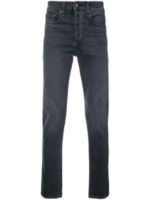 Czarne jeansy bawełniane perły Rag & Bone
