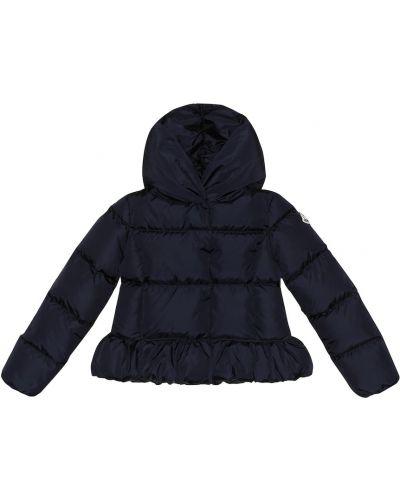 Стеганая куртка классическая синий Moncler Enfant