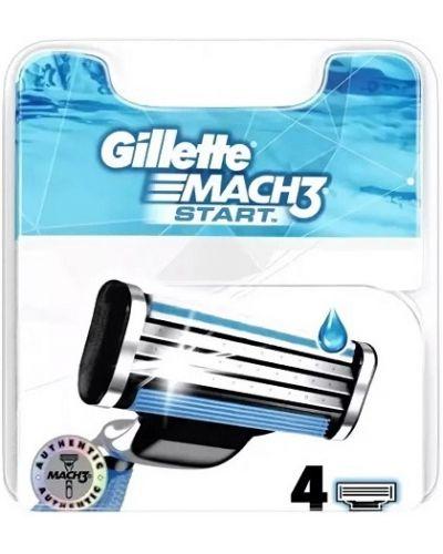 Кожаная бритва в полоску Gillette