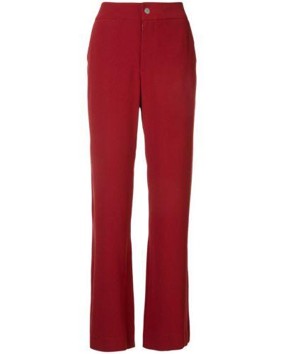 Свободные брюки с карманами красный Zambesi