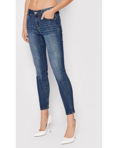 Mom jeans granatowe Fracomina