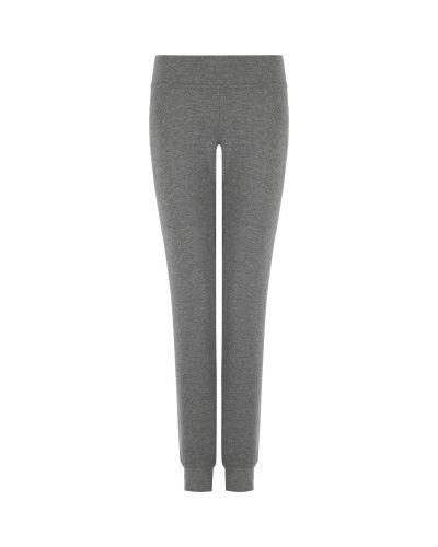 Серые трикотажные брюки Gsd
