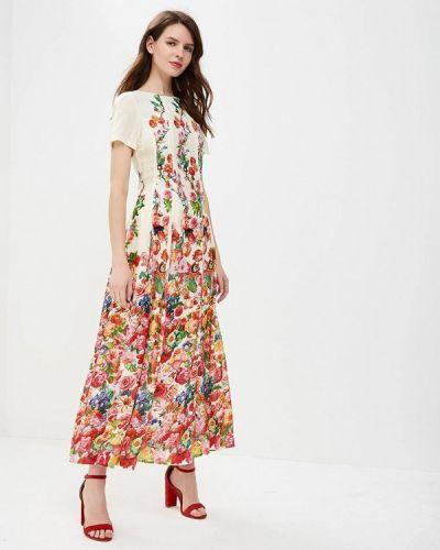 Бежевое платье весеннее Madam T