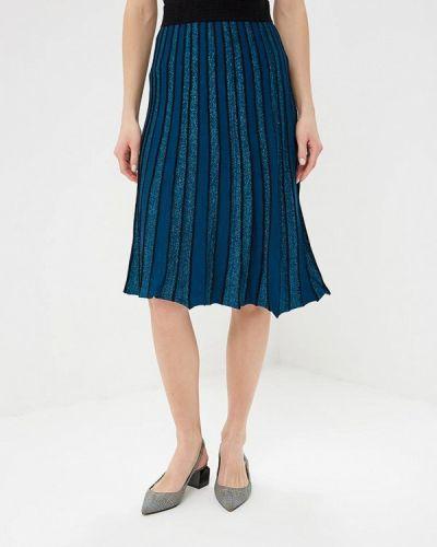 Плиссированная юбка бирюзовый Yumi
