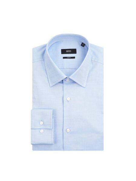 Koszula z długim rękawem Oxford wełniany Boss