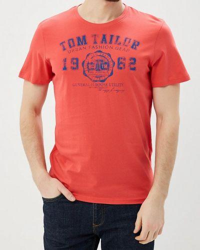 Красная футболка Tom Tailor
