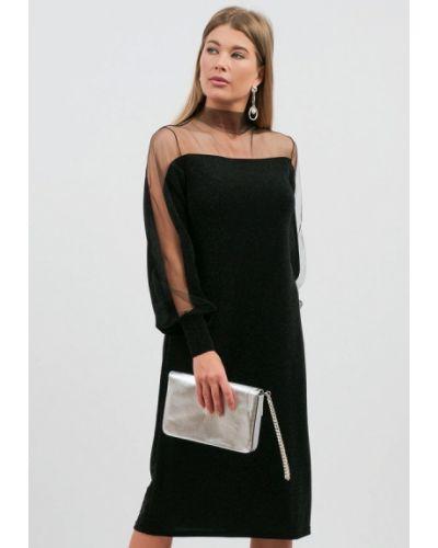 Черное весеннее платье Lussotico