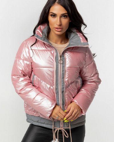 Теплая розовая куртка Whitefox
