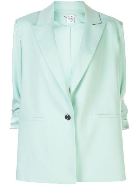 Пиджак оверсайз с карманами мятный Alice+olivia