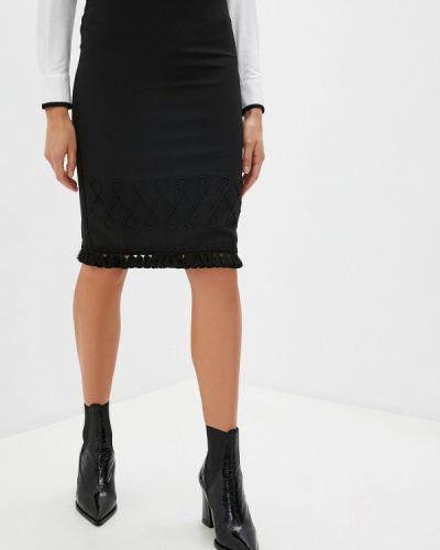 Черная юбка узкого кроя Blugirl Folies