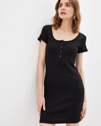 Черное платье Pink Frost